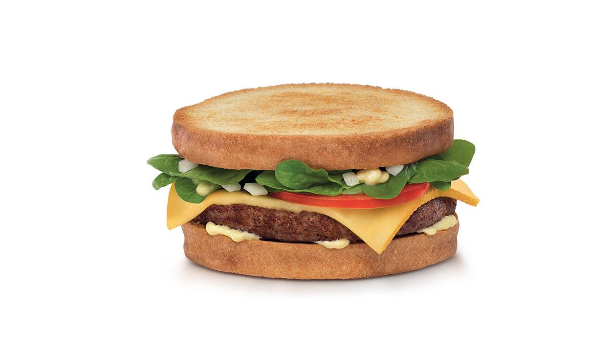 stylisme culinaire sur burger pour Quick