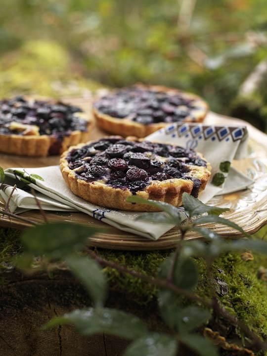 tarte aux myrtilles d'Alsace